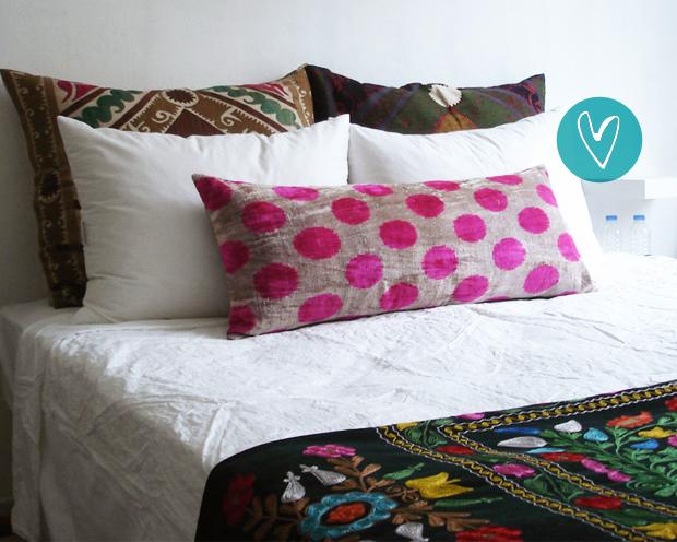 almofada decorativa diferente