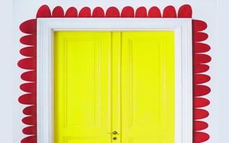 Decnet portas coloridas