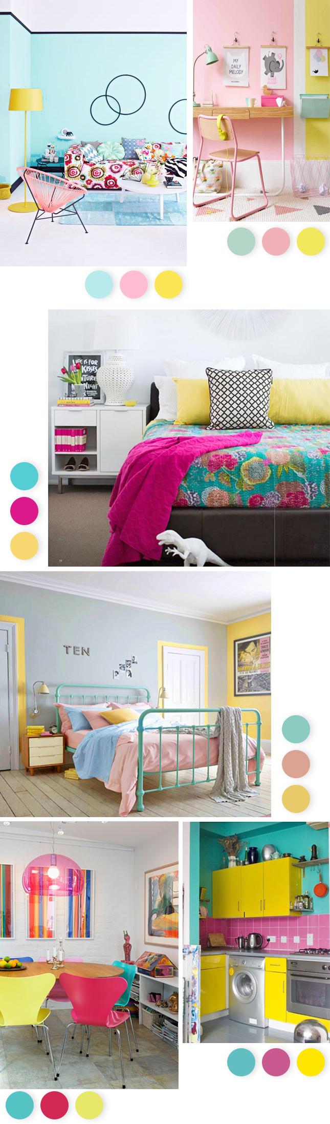 decoradornet-turquesa-rosa-amarelo