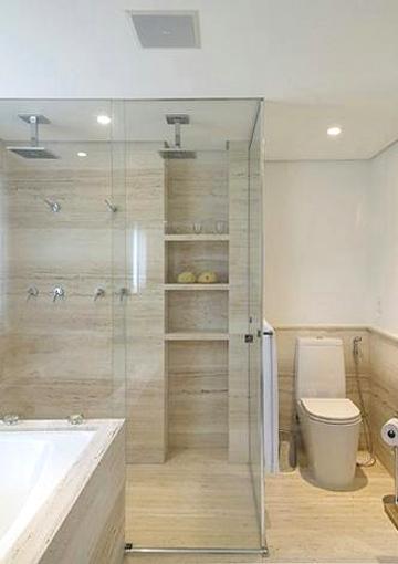 Nichos no Banheiro -> Nicho Banheiro Altura