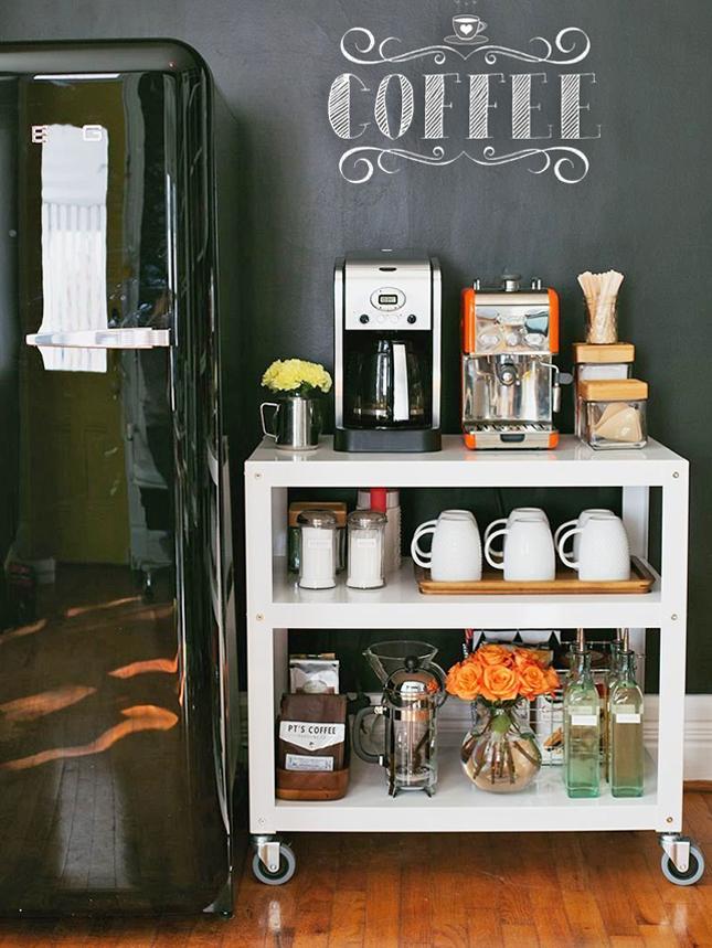 Estação de café expresso... huummm