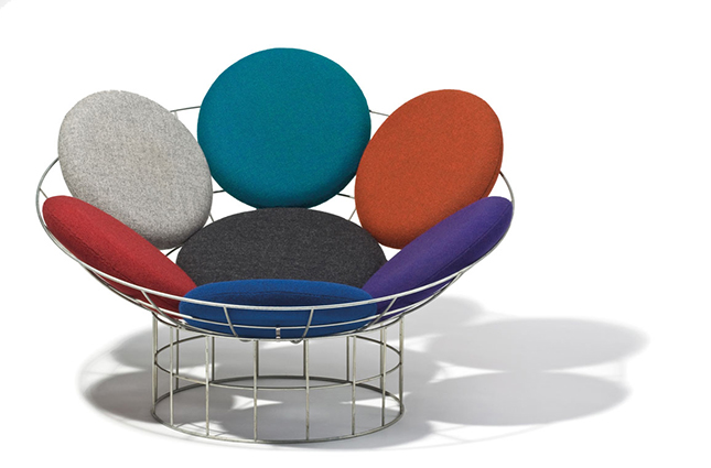 Verner Panton Peacock Chair