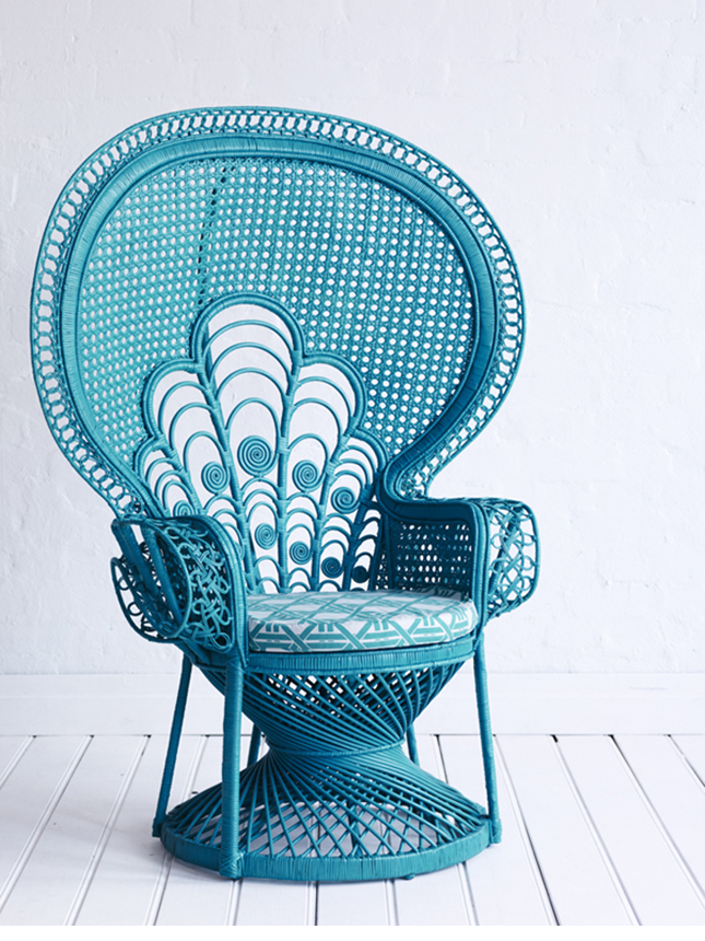Reinas Peacock Chair