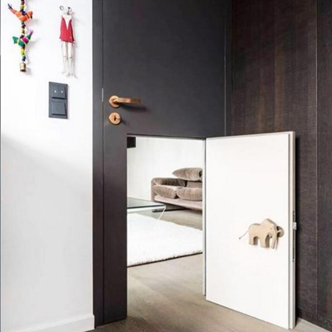 como sobreviver esta vida sem ter feito uma mini porta no quarto do filho ? Design by Karhard Architektur