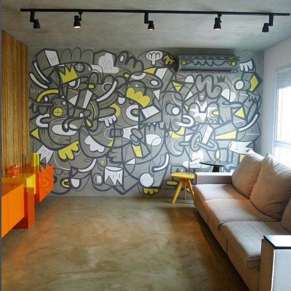 8. Graffiti: urbano e descolado