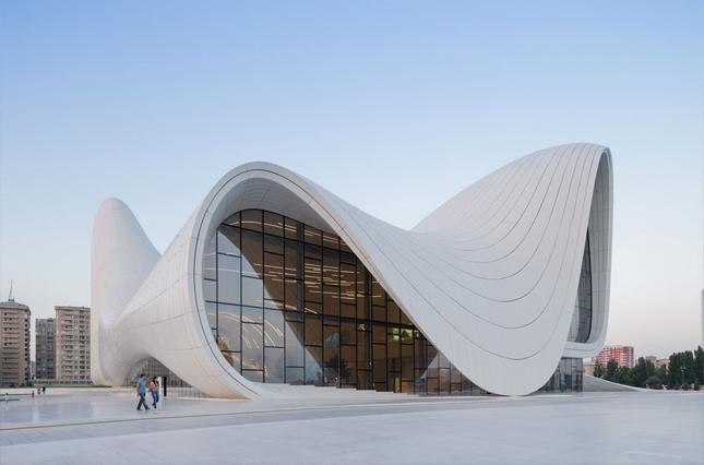 Heydar Aliyev Cultural Centre - 2007