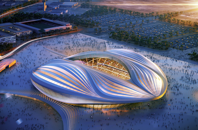 FIFA world cup stadium design, Qatar - 2022