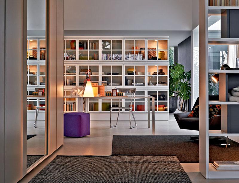 Libreria Piroscafo da Molteni design Aldo Rossi