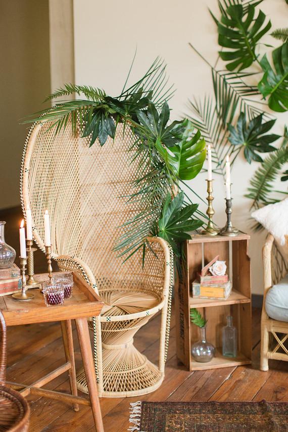 decorando com planta