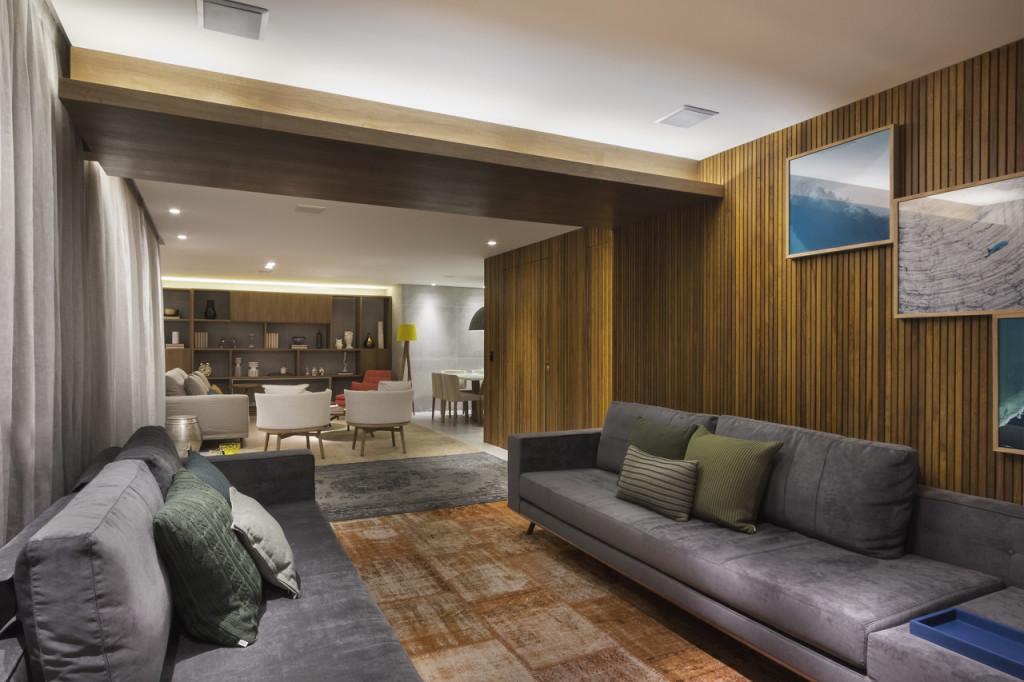 Projeto Studio DWG: marcenaria planejada valoriza o apartamento.