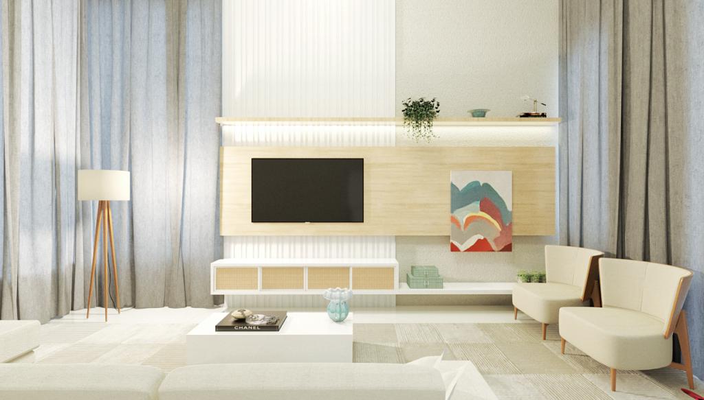 decoração online da sala de estar decoradornet arquiteto